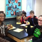 CAHS Chemistry Class Builds Molecular Models