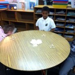 Dye 2nd Graders Use Marshmallows to Learn Geometry