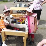 Learning Community Students Celebrate Farm Day