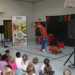 Food Play assembly at Dillon Elementary 1
