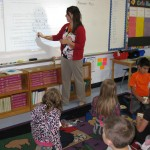 Mrs.Dempsey's 3rd grade class is learning math 1