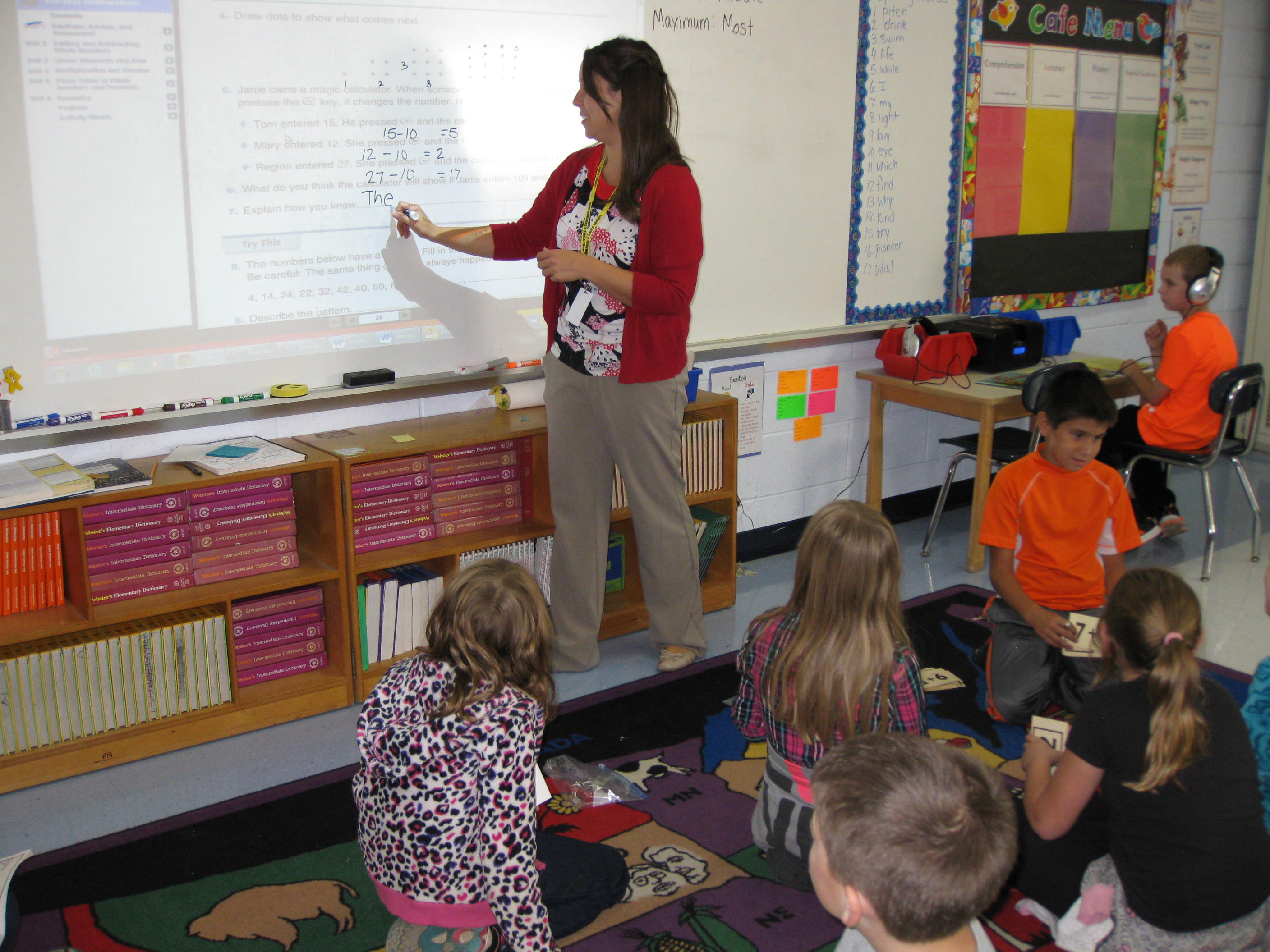 Mrs.Dempsey\'s 3rd grade class is learning math 1 | Carman-Ainsworth