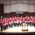 DSO kids on stage 2017